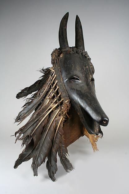 Goat Mask (Je)