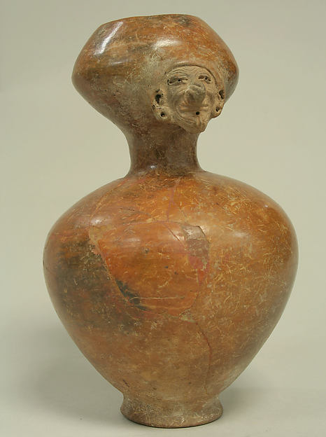 Vessel with Face