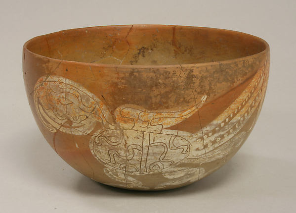 Bowl with Bird Design