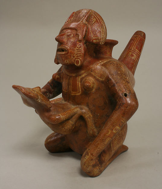 Female Figure Vessel