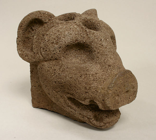Peccary Head Hacha
