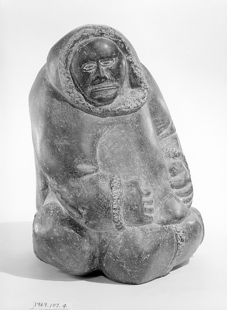 Stone Woman in Parka