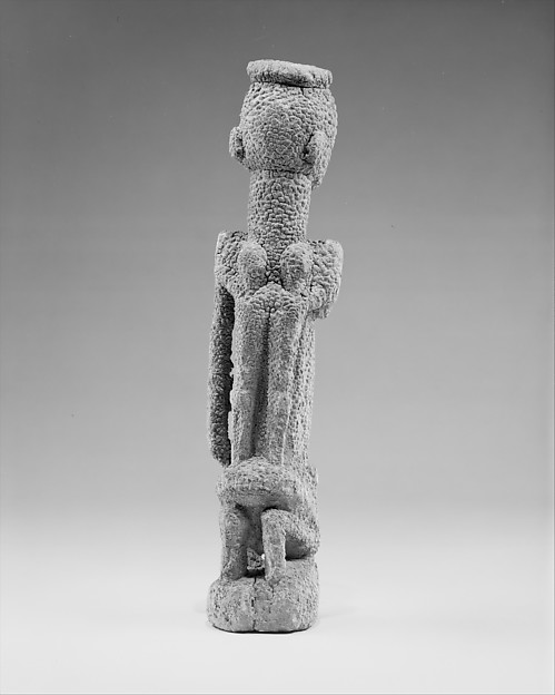 Figure: Kneeling Mother with Children