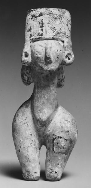 Standing Ceramic Female Figure