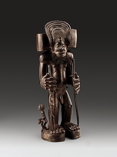 Commemorative figure of a chief as Cibinda Ilunga