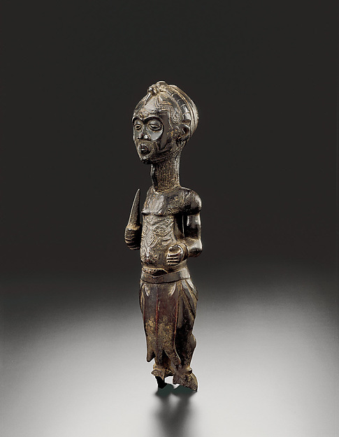 Figure of a leopard chief