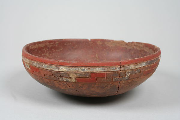 Incised bowl with dots
