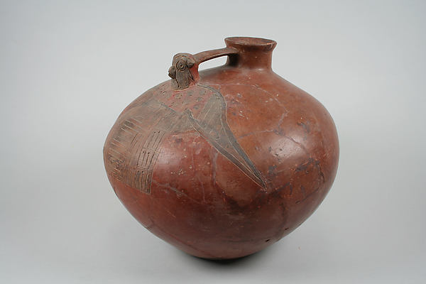 Bottle, Falcon Head