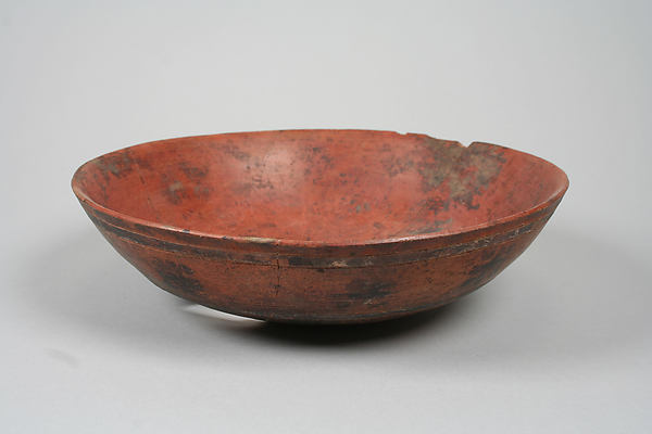 Incised bowl with crosses