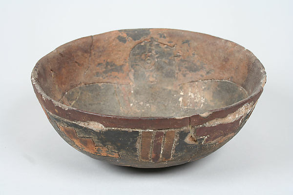 Incised Bowl with Bird Motif
