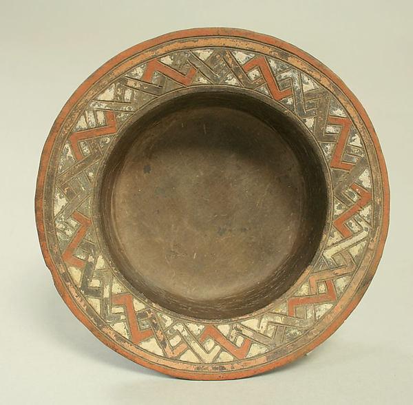 Bowl with Flat Rim