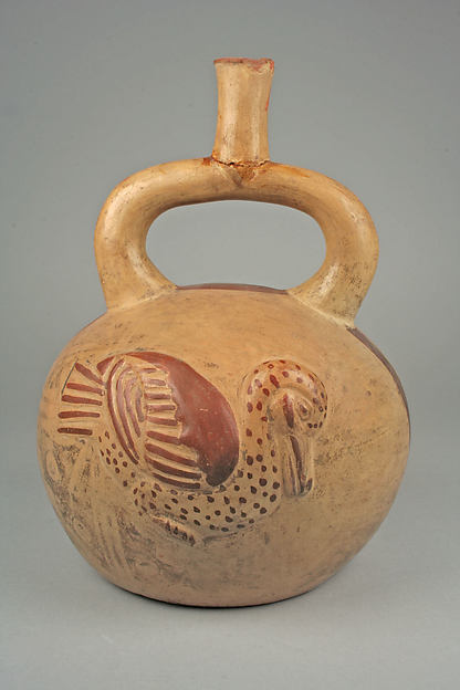Stirrup Spout Bottle with Duck