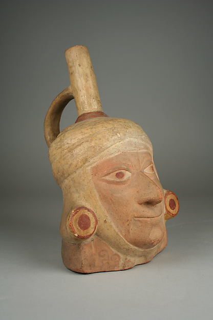 Portrait Head Bottle