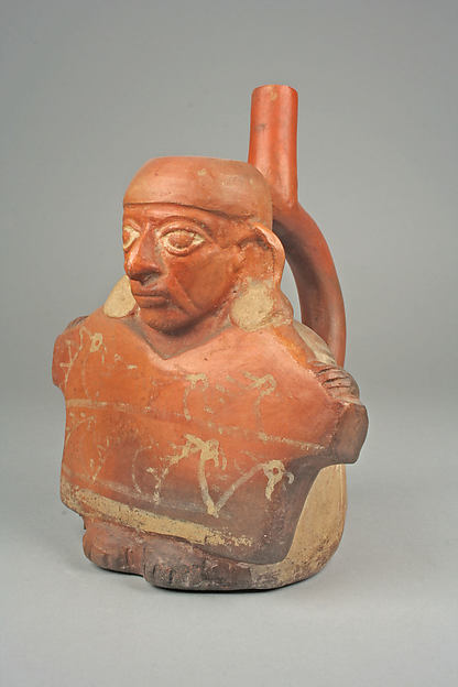 Bottle, Figure Showing Tunic