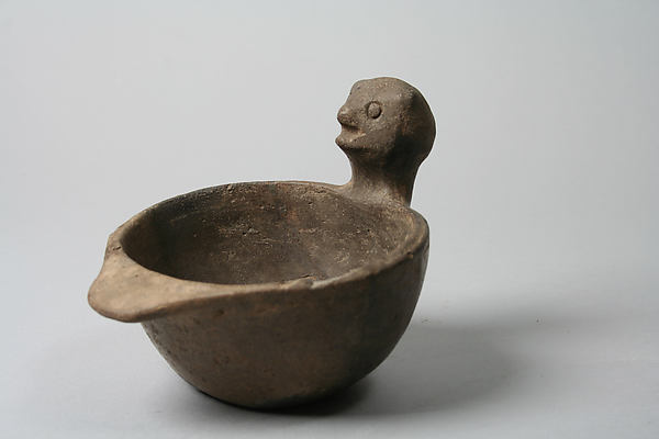 Bowl, Head on Rim