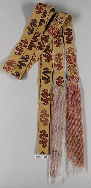 Tapestry Sash