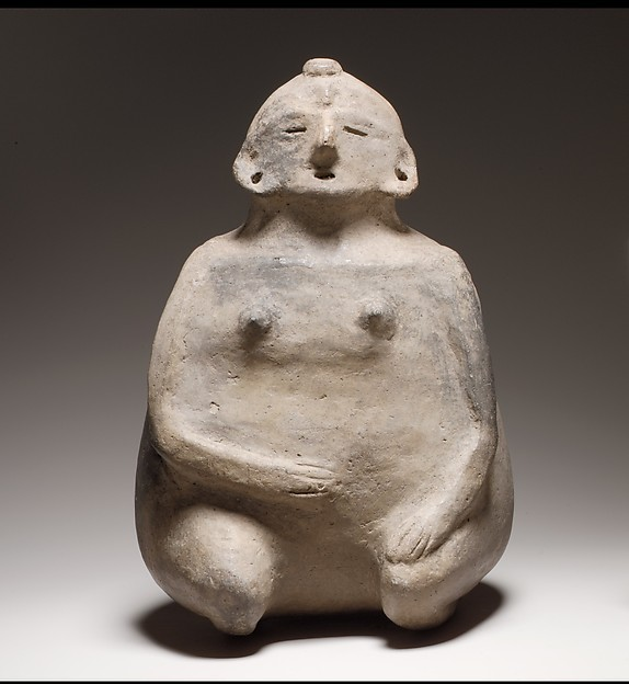 Female Figure Bottle