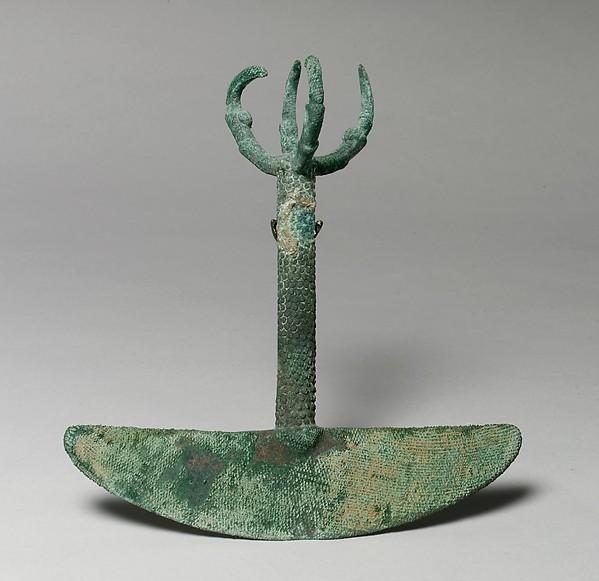 Ornamented Knife (tumi)