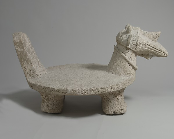 Ritual Seat for a Noble (Osa' osa)