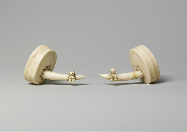 Ivory Ear Ornaments (Hakakai)