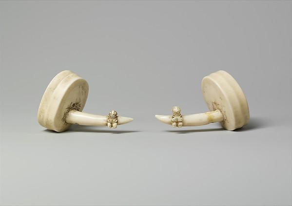 Ivory Ear Ornaments (Hakakai)