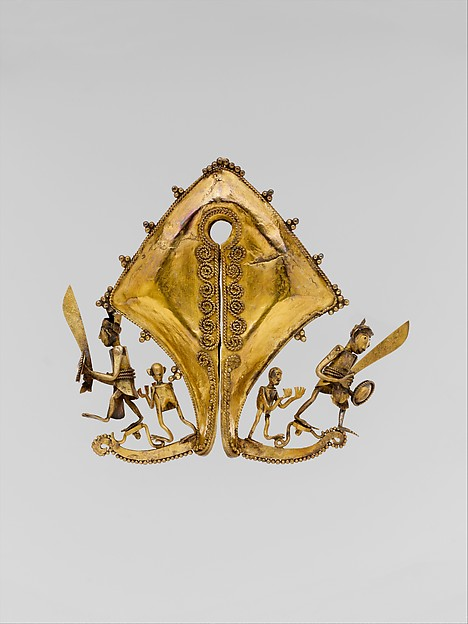 Ear Ornament or Pendant (Mamuli)