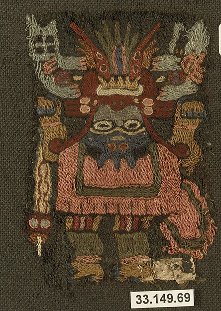 Embroidered Mantle Fragment