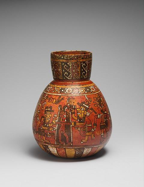 Jar with Ritual Scene