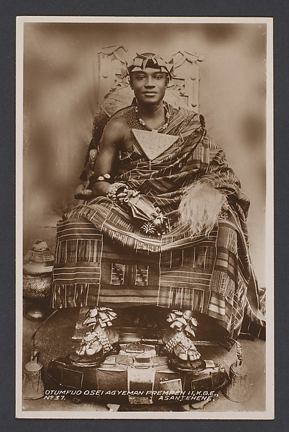 Asantehene Otumfuo Osei Agyeman Prempeh II [r. 1931-70]