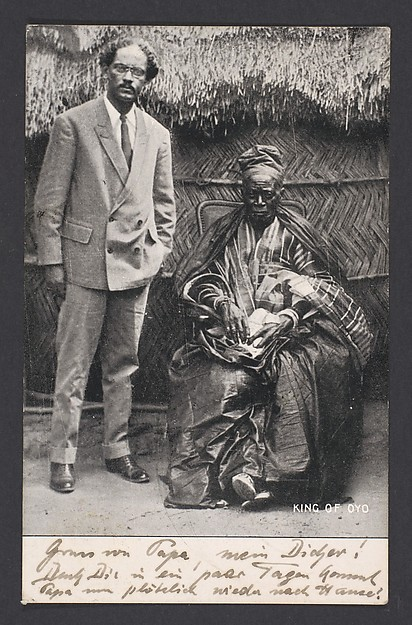 King of Oyo [Adeyemi I Alowolodu, r. 1876-1905]