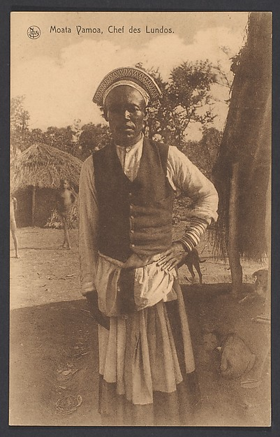 Moata Vamoa, a chief of the Lunda