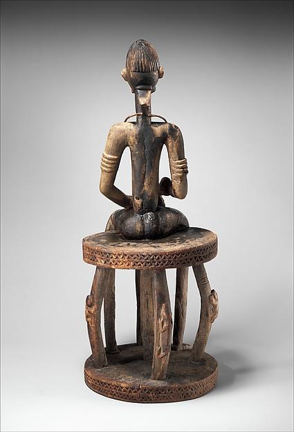 Figure: Seated Male on Stool