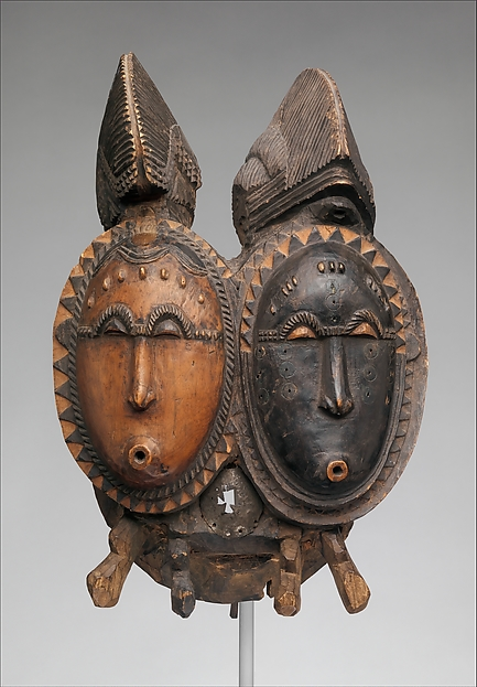 <em>Mblo</em> Twin Mask (<em>Nda</em>)