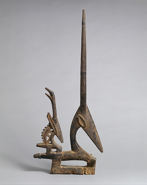 Headdress (Ci Wara): Female Antelope