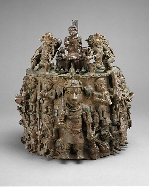 Figure: Oba with Sacrificial Animals from the Ezomo&#39;s Altar of the Hand