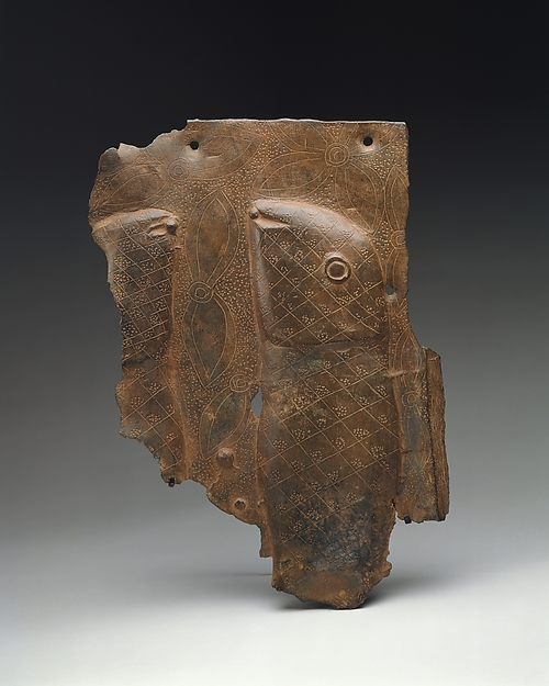 Plaque Fragment: Mudfish