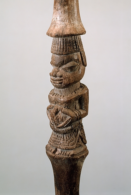 Rattle Staff: Three Figures (Ukhurhe)