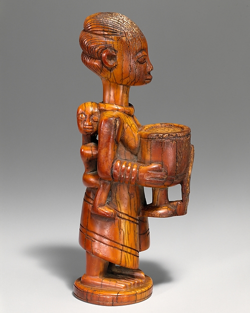 Figure: Mother with Vessel and Child