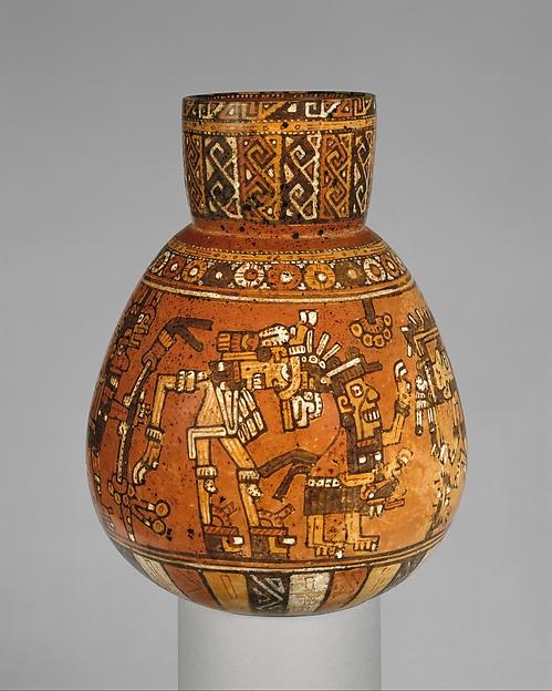 Jar with Ritual Scene