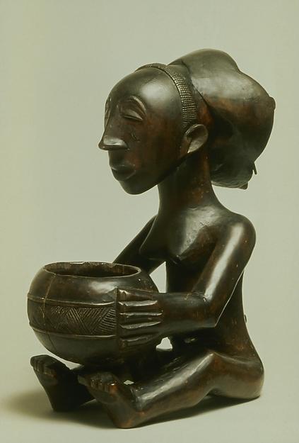 Female Mboko Bowl Bearer