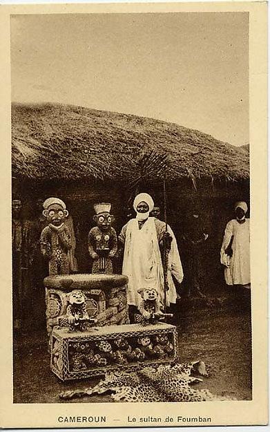 Sultan of Bamum (Njoya, r. ca. 1885–1933)