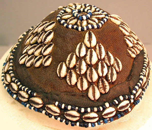Hat with Cowrie Shells