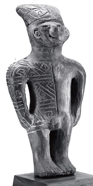 Standing Ceramic Male Figure