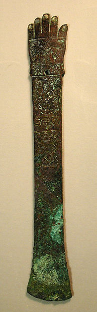 Ceremonial Knife in the Form of an Arm