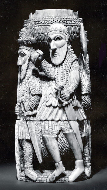Saltcellar: Portuguese Figures
