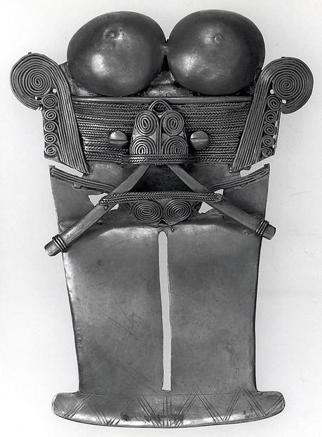 Stylized Figure Pendant