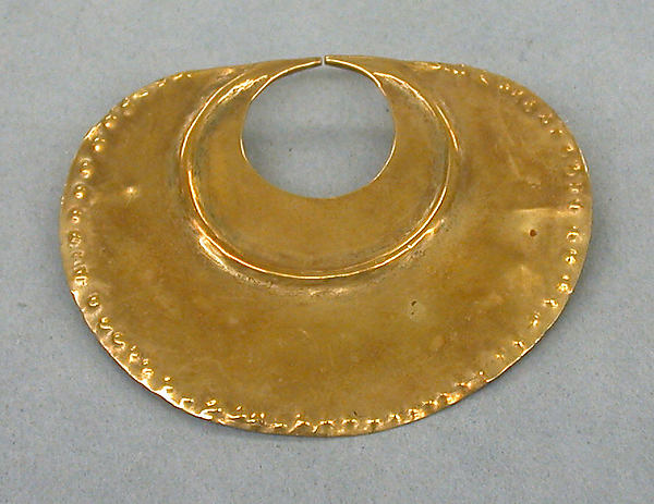 Hammered Gold Nose Ornament