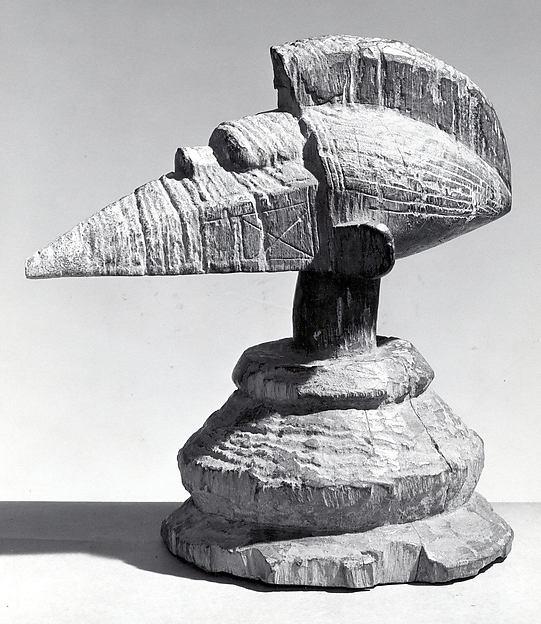 Headdress and Shrine Figure (a-Tshol)