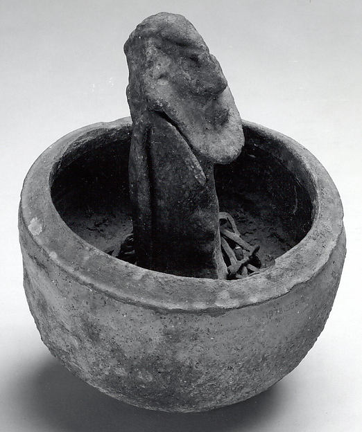 Vessel: Male Figure