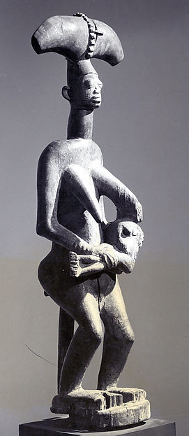 Sango Shrine Figure: Mother and Child